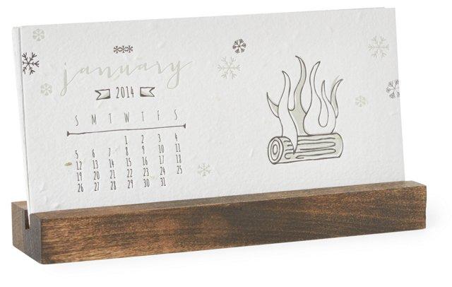 Daisy Seeded Plantable Calendar