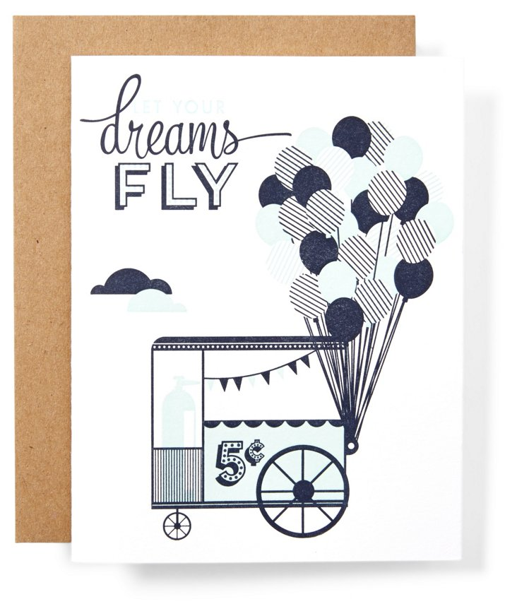 S/12 Note Cards, Let your Dream Fly