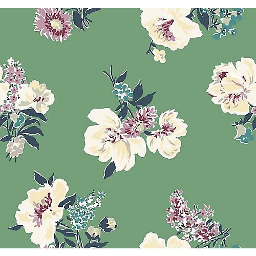 Isleboro Eve Madcap Cottage Wallpaper, Moss