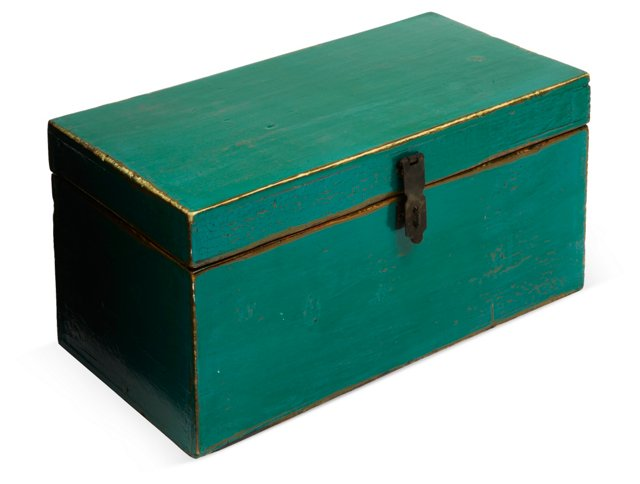 Asian Lacquered Wood Box