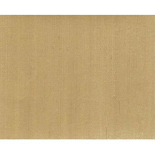 Grass Cloth Wallpaper, Beige