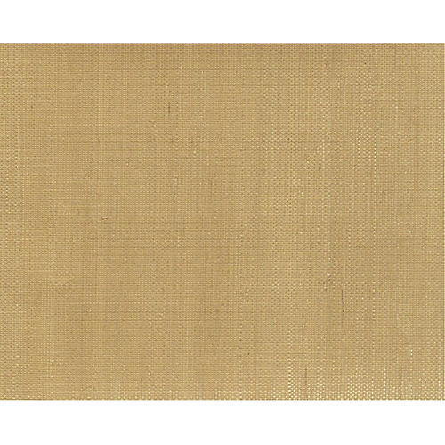 Grass Cloth Wallpaper, Beige