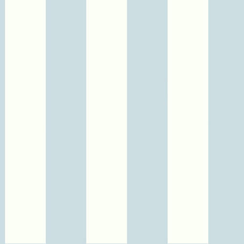 Stripe Wallpaper, Light Blue