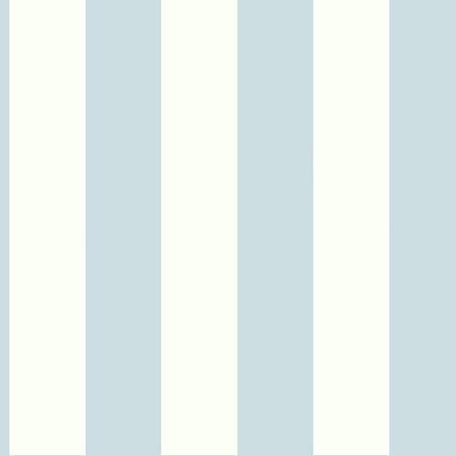 Stripe Wallpaper, Light Blue