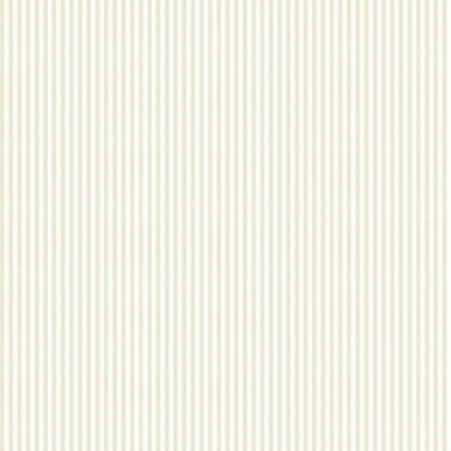Taffeta Ticking Wallpaper, Beige