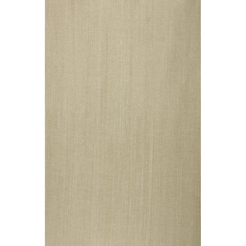 Grass-Cloth Wallpaper, Beige