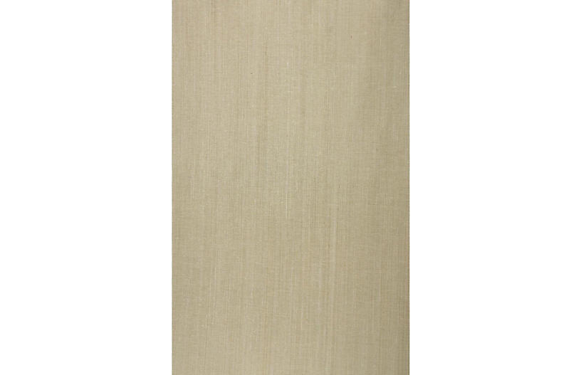 Grass-Cloth Wallpaper, Beige