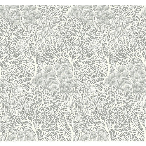 Miyuki Wallpaper, Cream/Gray