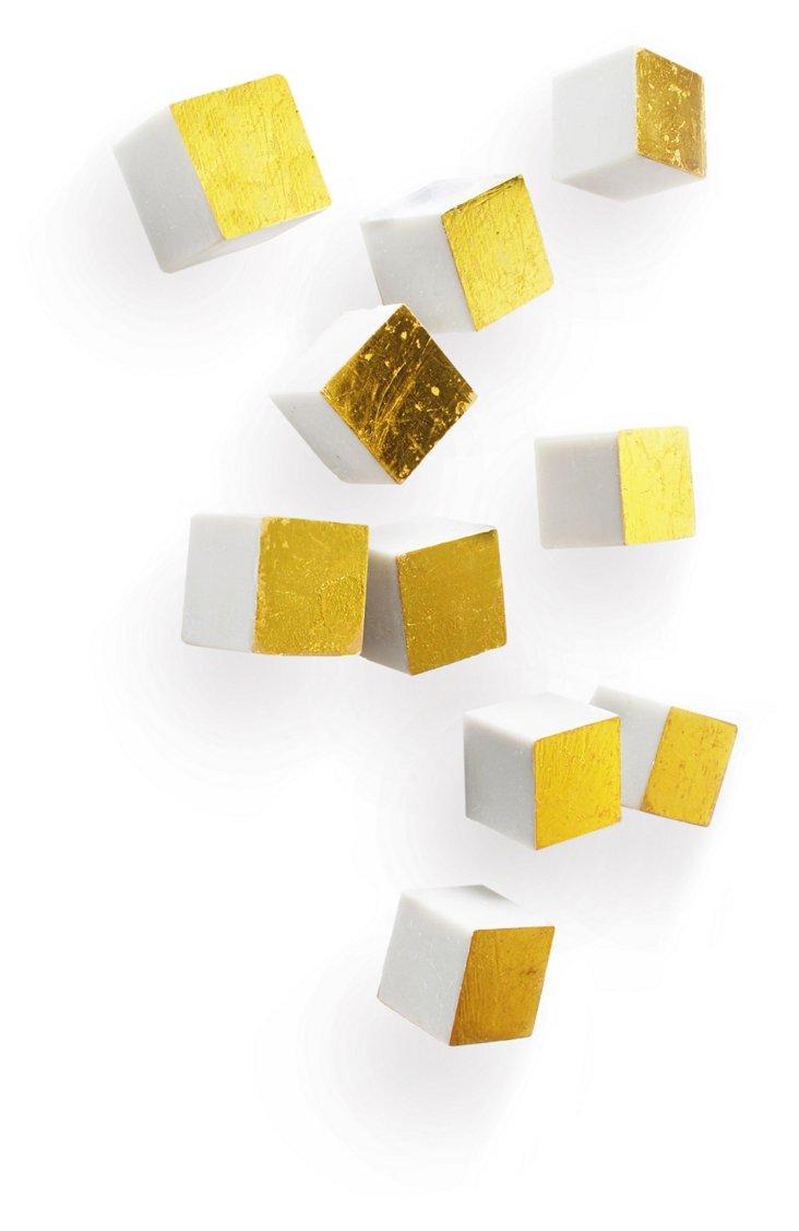 Cube Wall Play Set, Gold