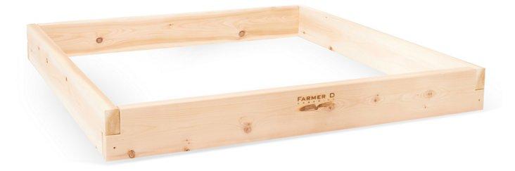 4' Cedar Raised-Bed Kit, Natural