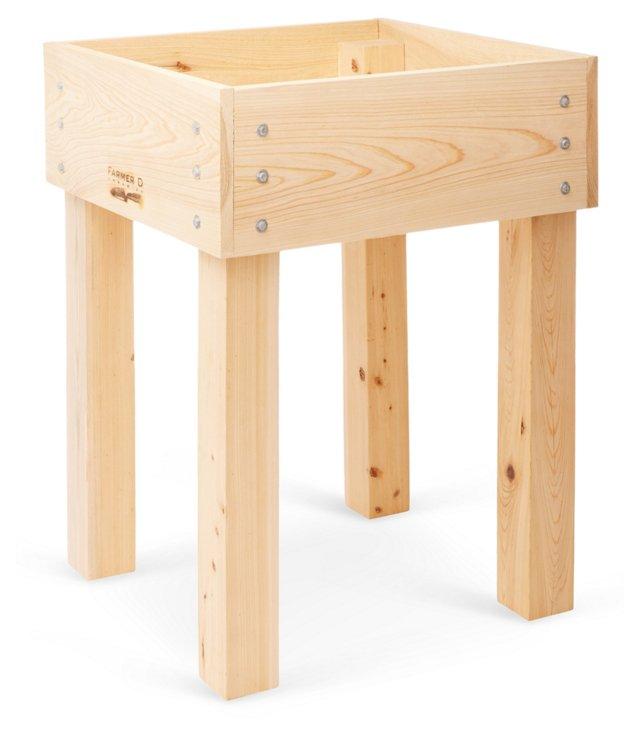 """34"""" Cedar & Cyprus Bed Kit on Legs"""