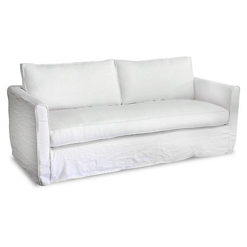 Tacoma Linen Sofa, Oyster