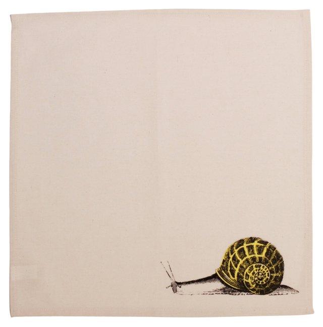 S/2 Snail Napkins