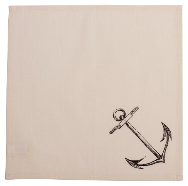 S/2 Anchor Napkins