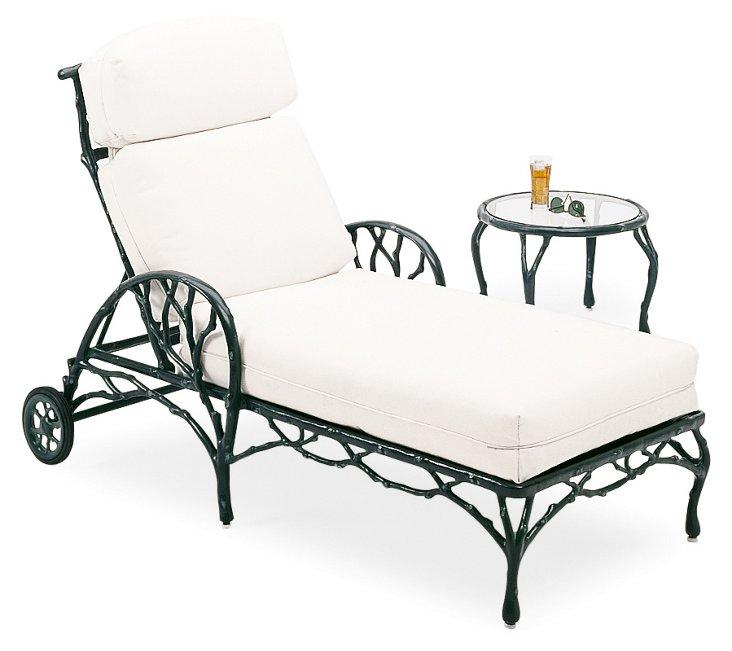 Adjustable Chaise, Black