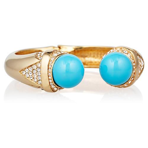 Turquoise Ball Bracelet