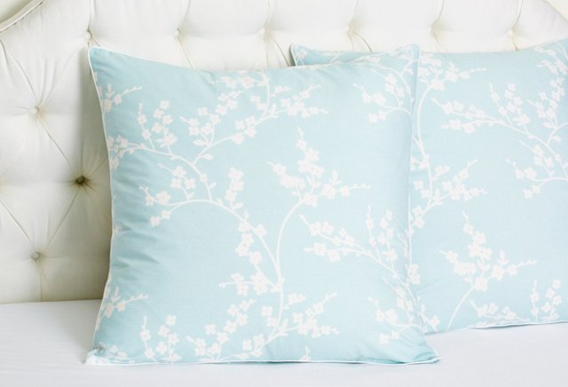 S/2 Balade Euro Shams, Light Blue
