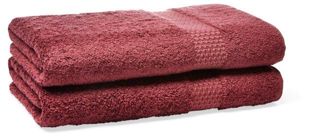 Etoile Hand Towel, Rubino