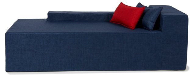 Chaise, Alice Blue