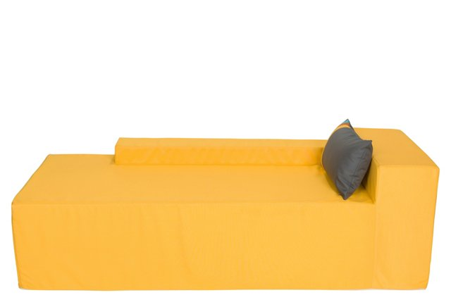 DNU, D-Chaise, Yellow
