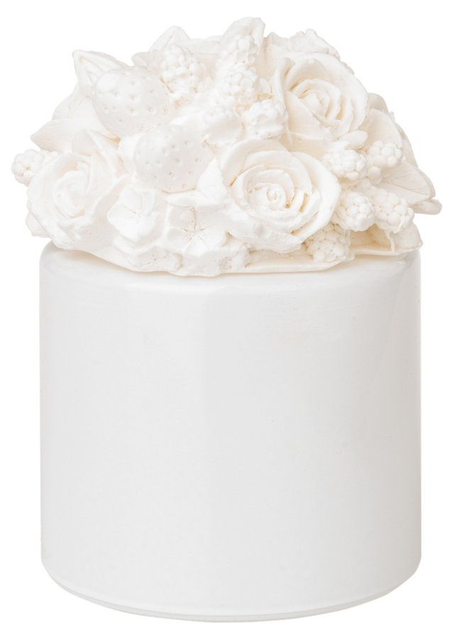 Rose Bunch Diffuser, White
