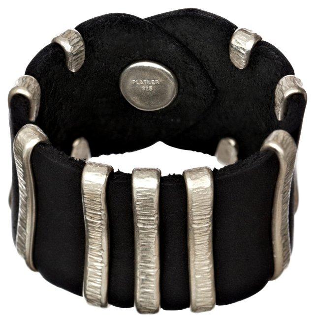 Palmeira Leather Cuff