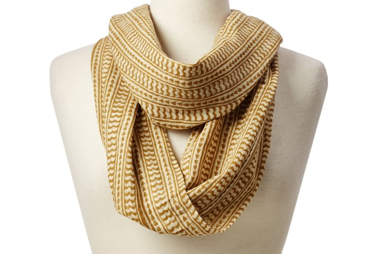 Infinity Scarf, Mustard