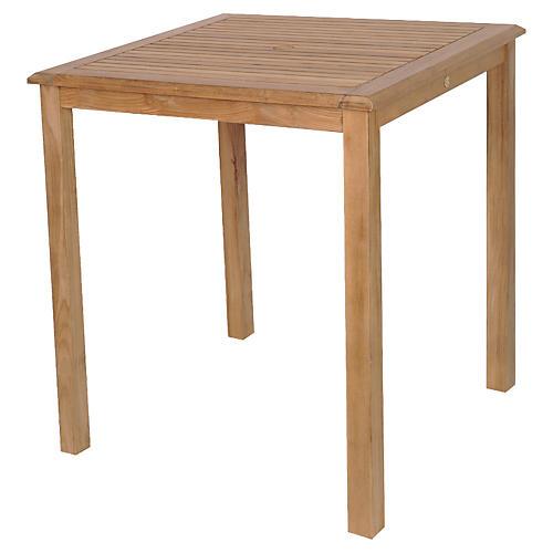 Eden Teak Bar Table