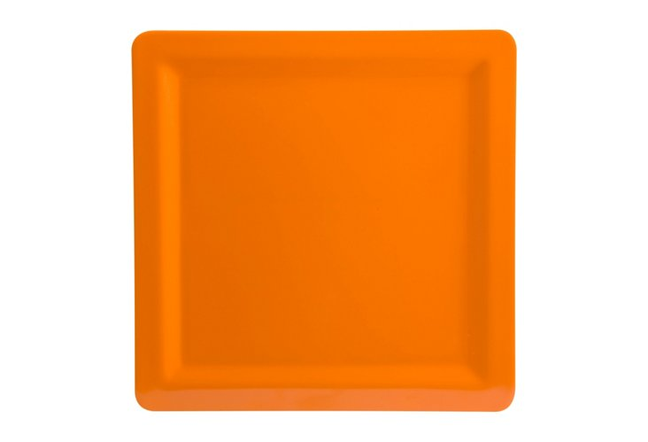 S/6 Callaway Salad Plates, Orange