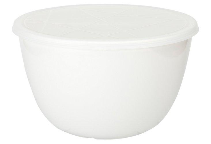 Emeril White 3Qt. Bowl w/ Lid
