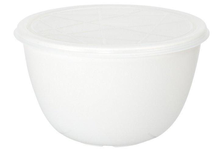 Emeril White 1.5Qt. Bowl w/ Lid