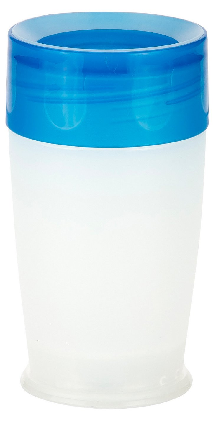 S/4 Tumblers with Lids, Blue