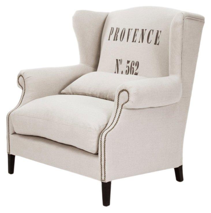 Archibald Wingback Chair