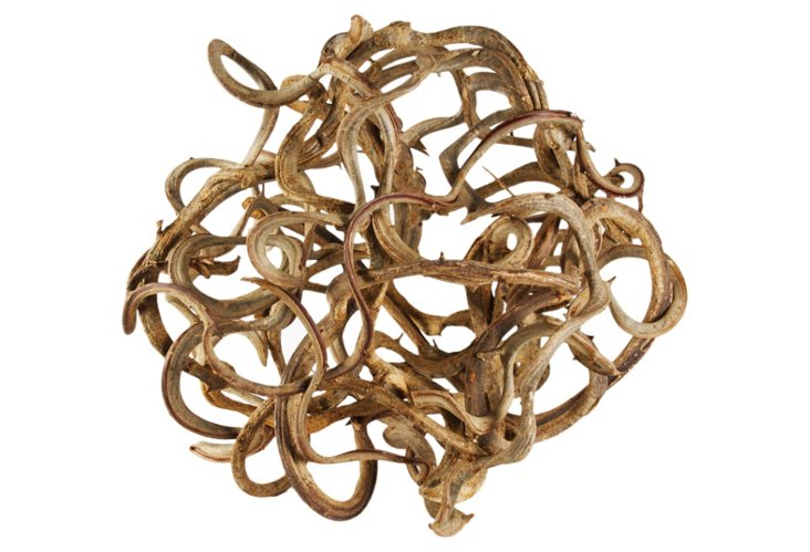 "25"" Woodbine Decorative Vine Ball"
