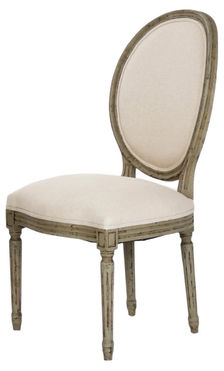 Octavia Side Chair, Olive