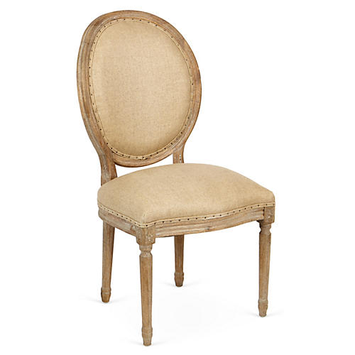 Joseph Side Chair, Hemp