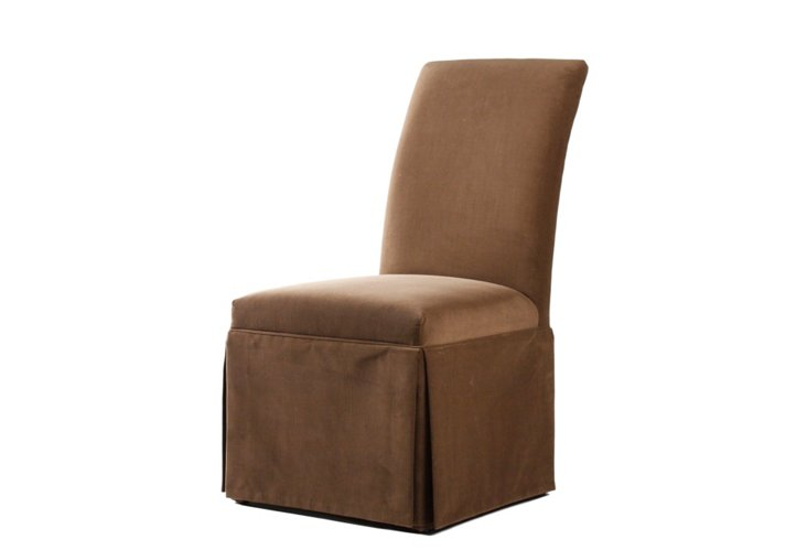Fabia Chair, Chestnut