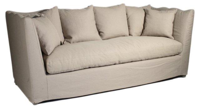 "Aragon 87"" Sofa, Hemp"
