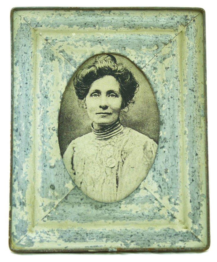 5x7 Blue Vintage-Inspired Frame