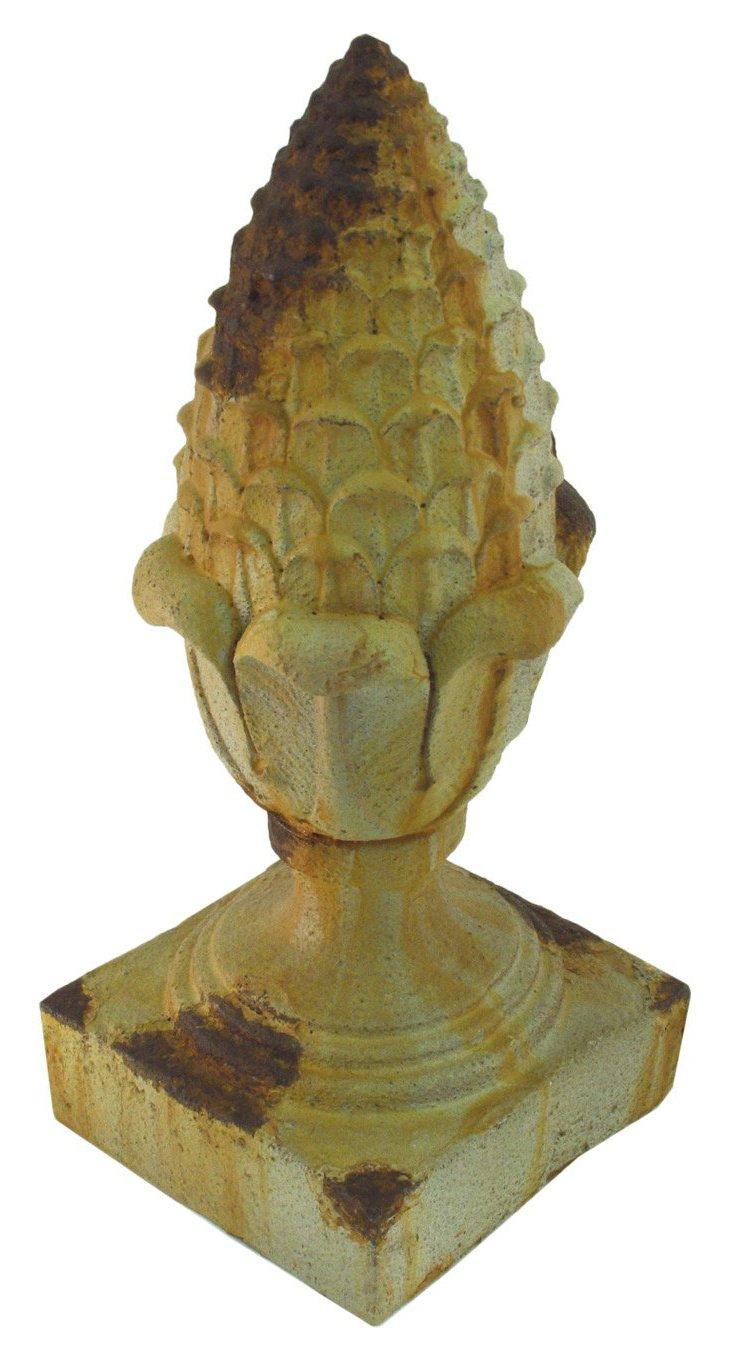 "10"" Pineapple Sculpture"