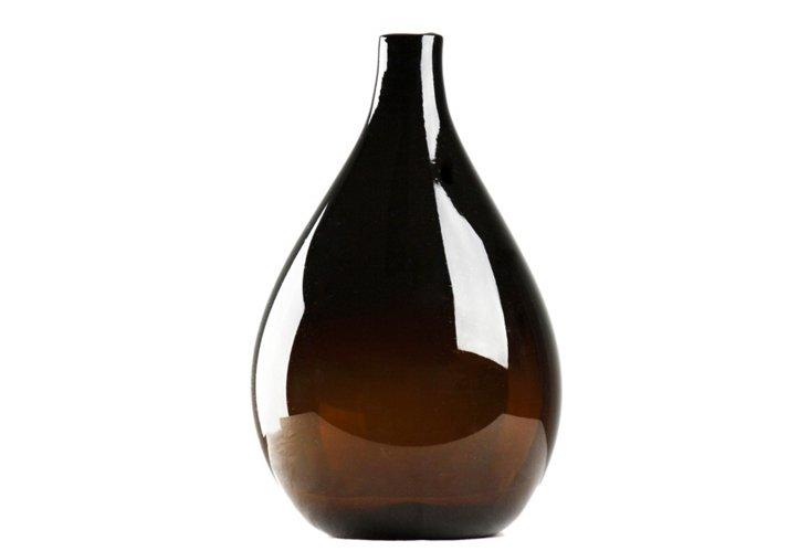 """19"""" Amber Vase"""