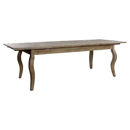 """Guilford 78-91"""" Extension Dining Table"""