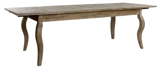"Guilford 78-91"" Extension Dining Table"