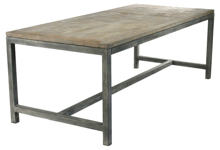 """Abner 87"""" Dining Table"""