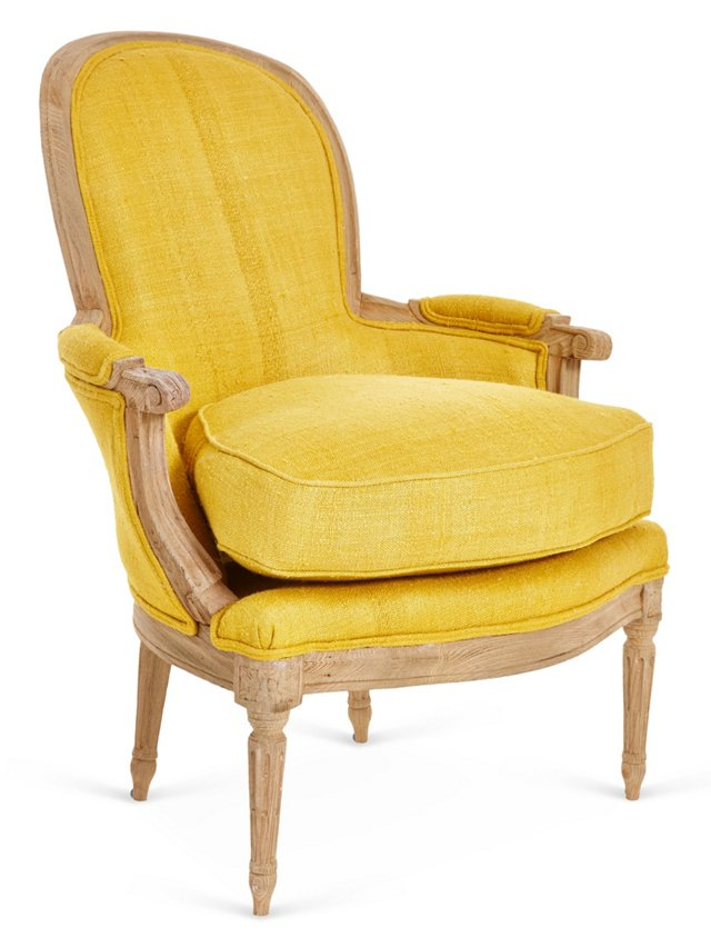 McKenna Accent Chair, Mustard