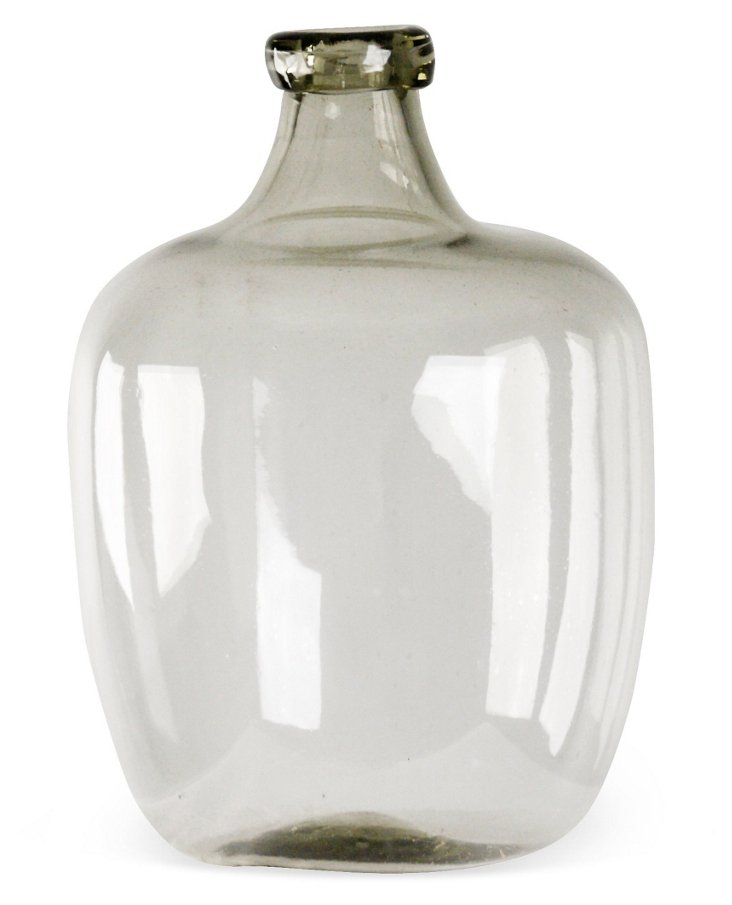 "20"" Frasier Glass Vase, Clear"