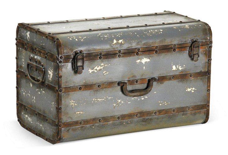 Iron Traveler's Trunk