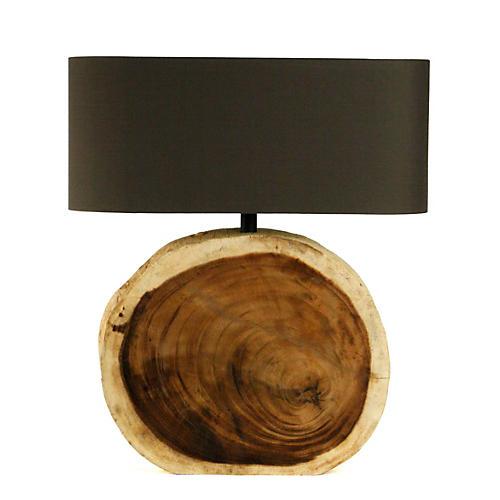 Circular Table Lamp
