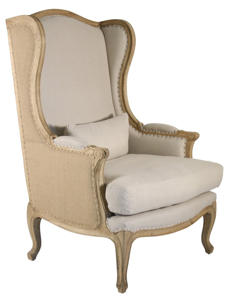 Leon Wingback Chair