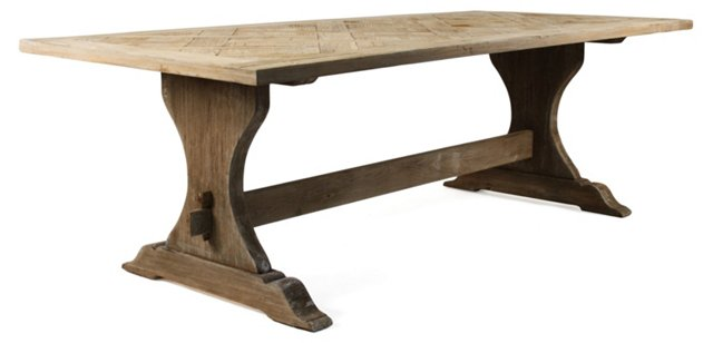 """Gent 95"""" Dining Table"""